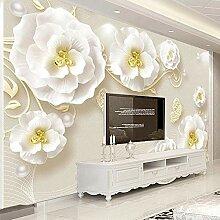 BYSQX Fototapete Tapete Wanddeko Weiß Einfach