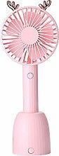 Bytgk F0520 Mini-Ventilator mit Geweih rose