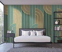 BZDHWWH 3D abstrakte Tapete Wandbild für
