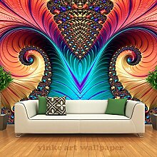 BZDHWWH 3D Foto Wandbild Tapete Kunst Abstraktes