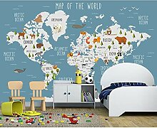 BZDHWWH Kinder Wand Papier Aufkleber Cartoon