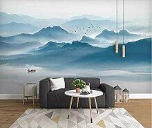 BZDHWWH Stil Berglandschaft Wandbild Wohnung