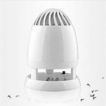 BZJBOY Insekt und Moskito Killer Lampe Fliegen Bug Trap LED Indoor Super Stark Ultra-Ruhe mit USB Charge Port Harmless für Home Commercial Use White
