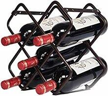 Bzsm Praktische Aufsatz- Weinregal Metallständer