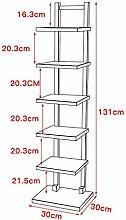Bzwj Regale Regale 7 Reifen Bücherregal