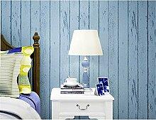 BZYBY Blaue Weiße Mediterrane Holzmaserung