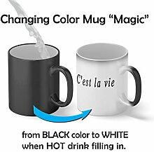 C'est La Vie Thats Life Magic Becher Mug 