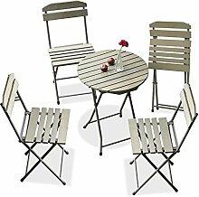C-Bin1 Balkon-Tabelle und Stuhl-Kombination