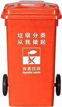 C-J-X TRASH CAN C-J-Xin Outdoor-Mülleimer, kann
