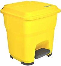 C-J-Xin Outdoor Kunststoff Mülleimer, bedeckt