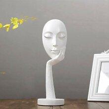 C&JUAN Abstrakte Kunst Gesicht Maske skulptur,