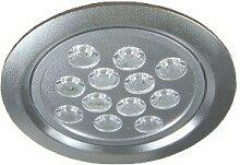 C-Light 12 W Profi Line LED Einbaustrahler Spot