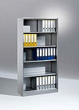 C+P Büroregal Asisto, H1980xB1000xT435mm