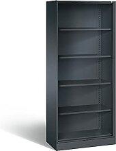 C+P Büroregal Asisto, H1980xB800xT435mm