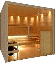 C-Quel Royal Sauna Glasfront 1946mm x 1955mm x 2040mm