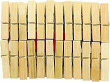 C3091395 Dekoklammer Bambus Natur 6 cm 576 Stück