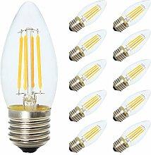 C35 4W Dimmbar LED Kerze Glühfaden Lampe, 2700K