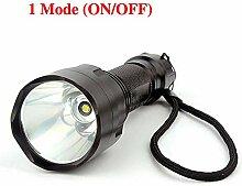 C8 LED-Taschenlampe Cree T6 2000 Lumen 1 Modus