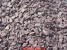 ca. 1 Tonne Canadian Slate violett, 15-30 mm im Big Bag
