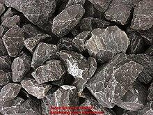 ca. 800 Kg Bruchsteine schwarz, 90-150 mm im