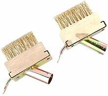 Cabilock 2 Stück Unkraut Drahtbürsten Werkzeuge