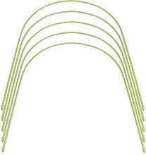 Cabilock 5 Stücke Pflanztunnel Folientunnel für