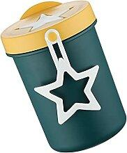 Cabilock Edelstahl Portable Tasse Getreide Tasse