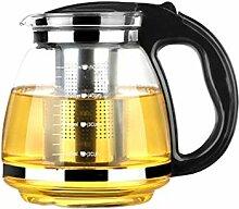 Cabilock Glas Teekessel Teekanne Wasserkocher