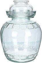 Cabilock Glas Vorratsdose Fermentierglas mit