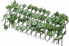 Cabilock Green Leaf Zaun Balkon Pflanze Blatt