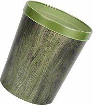 Cabilock Holzmaserung Mülleimer Durable