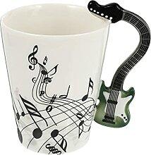 Cabilock Keramik Kaffee Becher Gitarre Becher