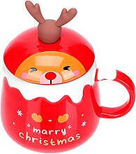Cabilock Keramik Weihnachten Becher Porzellan