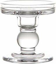 Cabilock Kerzenhalter aus Glas, kegelförmig, für