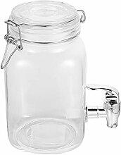 Cabilock Klar Glas Getränke Dispenser EIS Kaltes