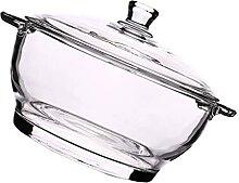 Cabilock Klar Runde Glas Auflauf Glas Kochen