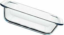 Cabilock Klarglas-Auflaufform für Ofenglaspfanne