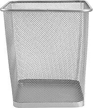 Cabilock Metall Draht Papierkorb Eisen Mesh