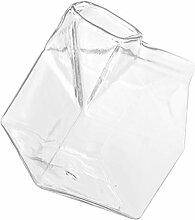 Cabilock Milchglas Tasse Mini Glas Milch