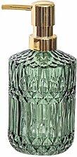 Cabilock Seifenspender aus Glas, rostfrei,