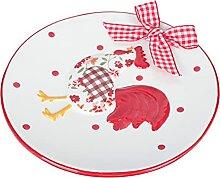 Cabilock Teller Keramik Portion Platten Gerichte