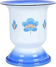 Cabilock Vintage Blumenvase Metall Blumentopf: 2