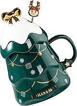 Cabilock Weihnachten Baum Tasse Weihnachten
