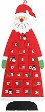 Cabilock Weihnachten Taschenkalender Hängen 24