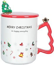 Cabilock Weihnachtsbecher Keramik Weihnachten