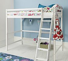 Cabin Bed High Sleeper in White kids Bed Texas by Noa and Nani