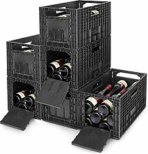 Cabka 6er Set WEINBOX - Das Flexible Weinregal,