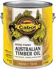 Cabot australischem Holz Öl Honig Teak-Finish