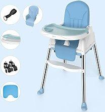 Cabrio-Hochstuhl 3 in 1 Tisch und Stuhl Set