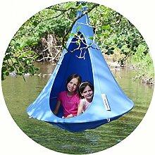 Cacoon Bonsai Hängezelt für Kinder – Farbe: sky blue